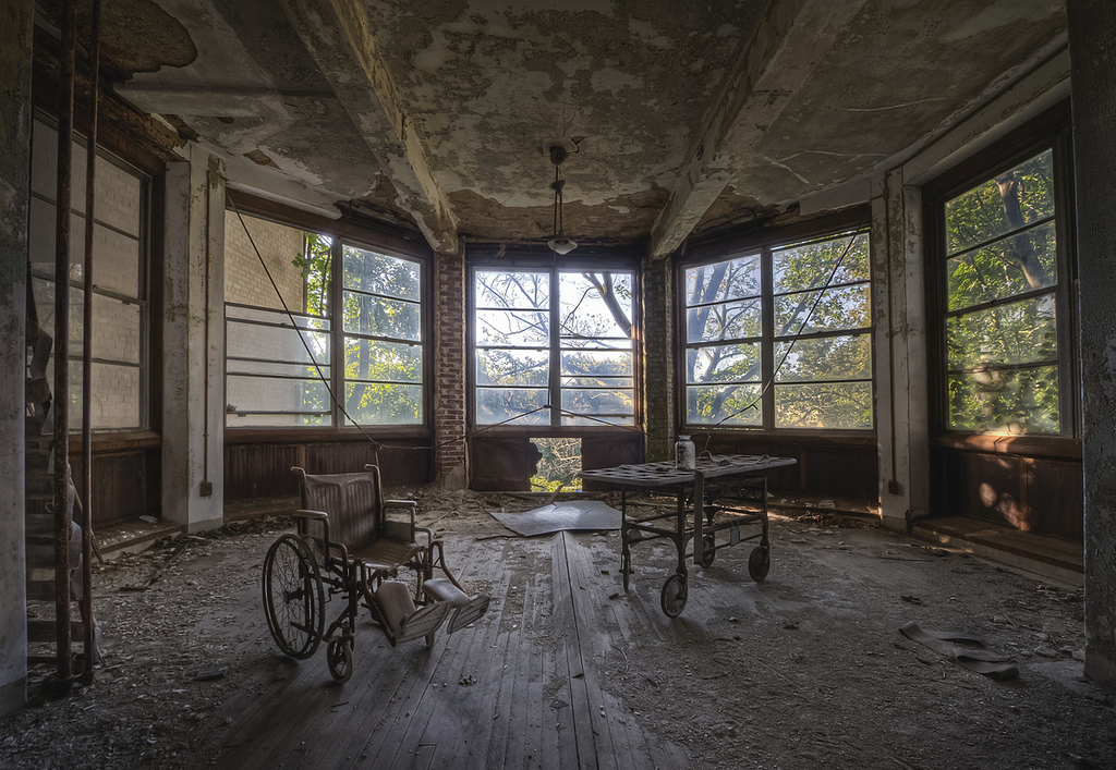 Operation Confidence These Photos Of Abandoned Asylums