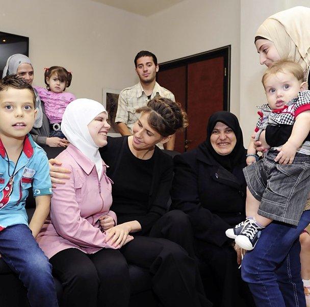 Asma Al-Assad, Syrian President Bashar's Wife Uses ...
