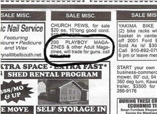 dinfo.gr - Ξεκαρδιστικές διαφημίσεις και μικρές αγγελίες από τις ΗΠΑ!