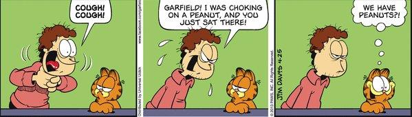 Food cartoon strips