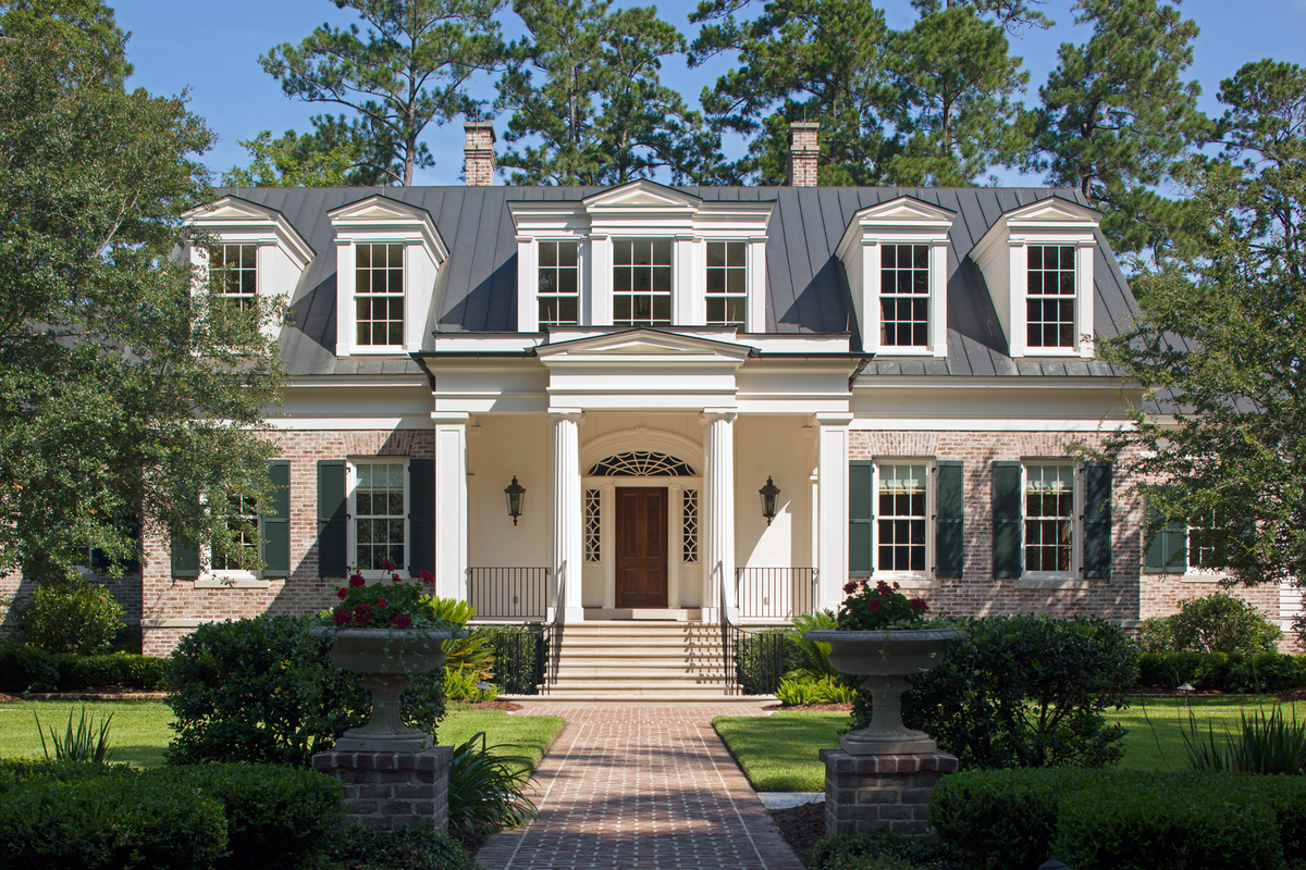Waterfront home in south carolina has modern elegance and for South carolina home builders