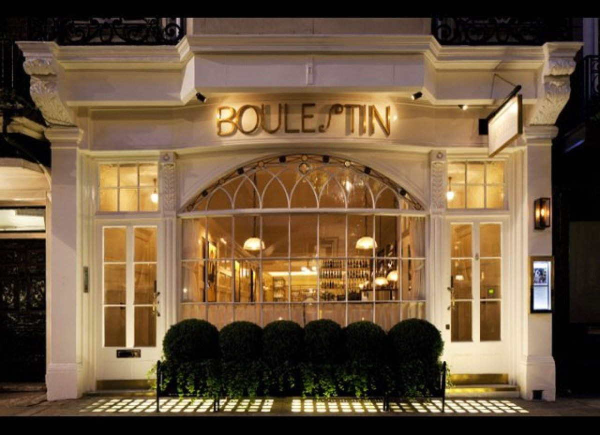 Fancy restaurant exterior - London Dining French Nostalgia And Late Night Wild Boar