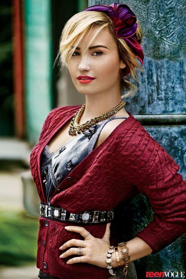 demi lovato self photoshoot - photo #20