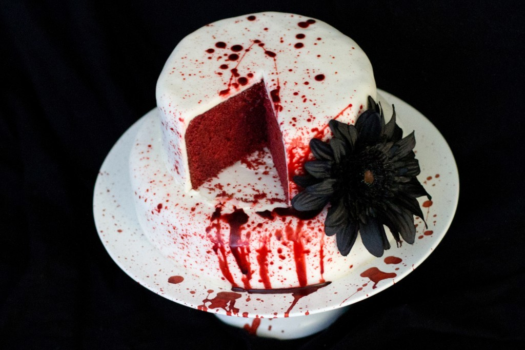 creepy halloween cake shopping list brains bugs blood and snakes photos - Blood For Halloween