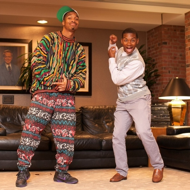 16 the fresh prince and carlton - Funny Character Halloween Costumes