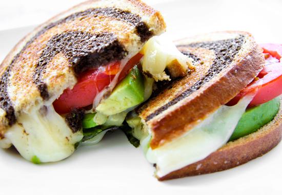 California BLT With Avocado And Basil Mayonnaise Recipe ...