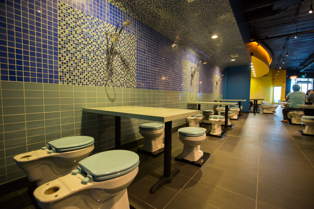 Restaurant Designed As Toilets Photo Essay Ramani 39 S Blog