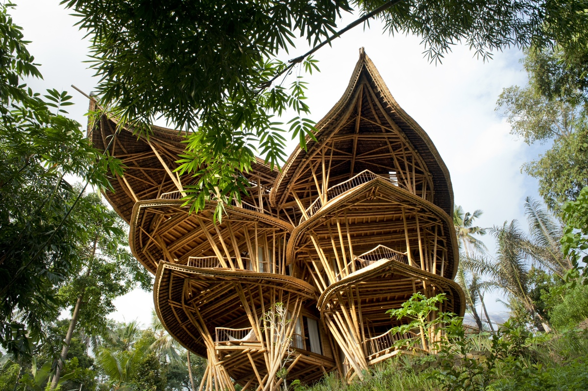 Bamboo Treehouse In Bali Is Pretty Much A Mansion The