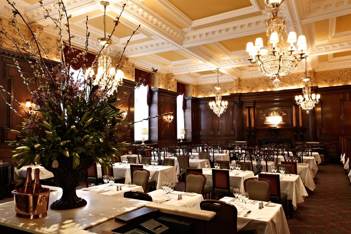 Restaurant London Roast Dinner Simpsons