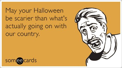 thankfully halloween cant be shut down - Funniest Halloween Pictures