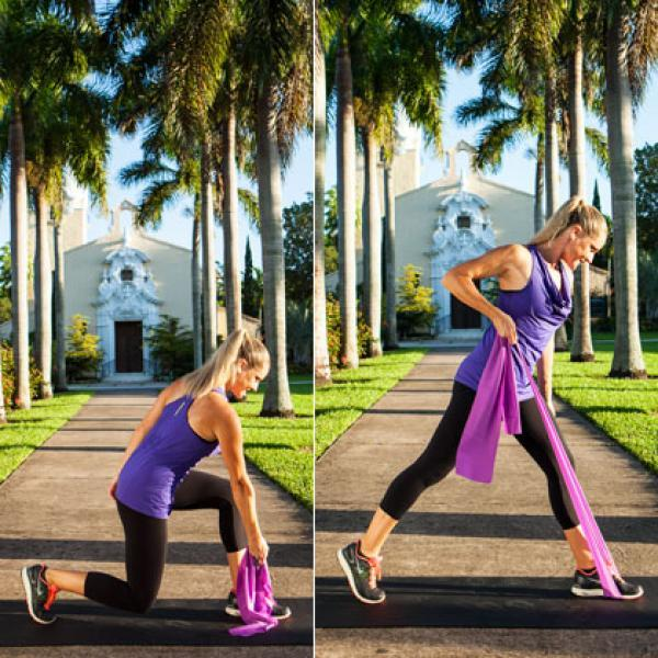 A Total Body Resistance Band Workout You Can Do Anywhere