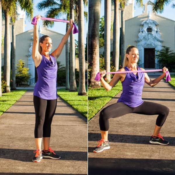 A Total-Body Resistance Band Workout You Can Do Anywhere