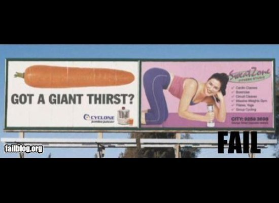 Funny Worst Advertising FAILs - 24 worst advertising placement fails