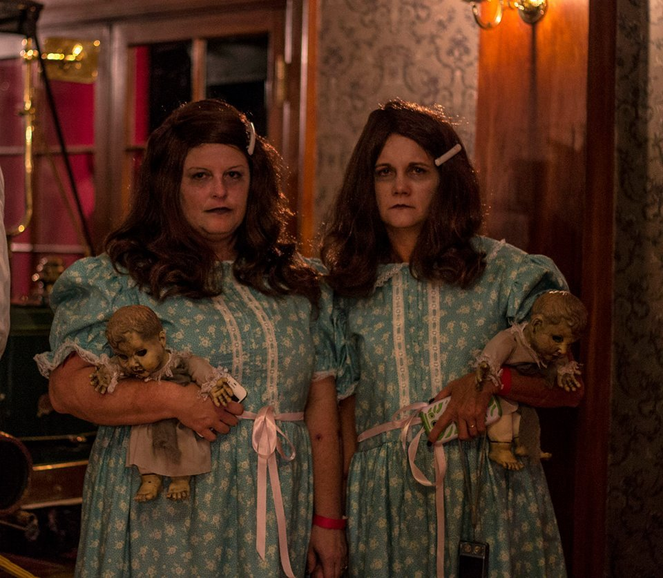 stanley hotel hosts halloween ball masquerade from stephen kings the shining comes to life - The Shining Halloween