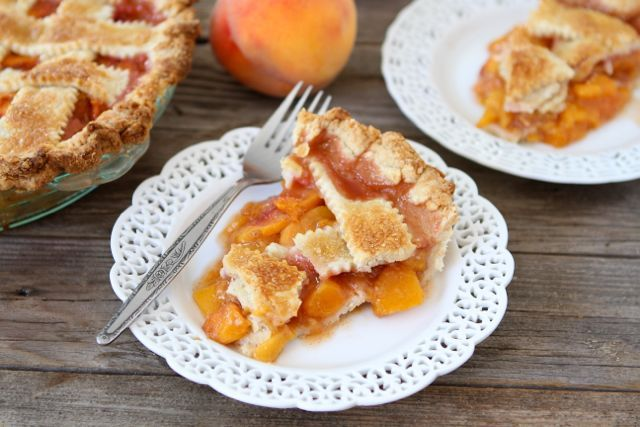 This classic peach recipe pays tribute to James' giant fruit. Get the ...