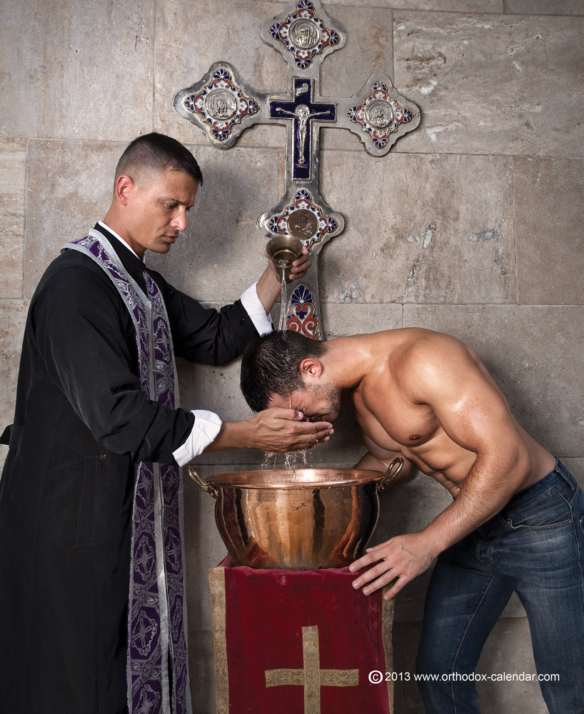 Gay Romanian Orthodox Priest Calendar