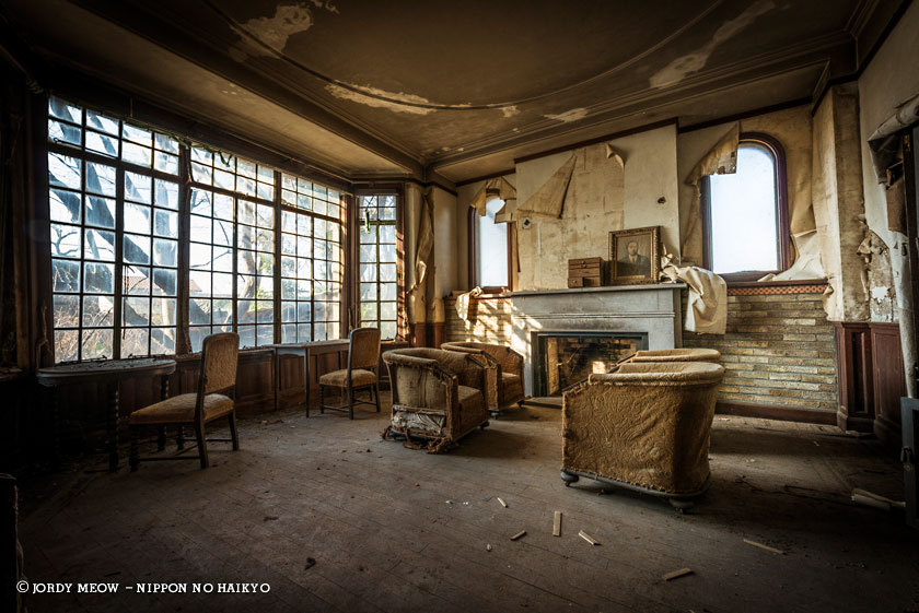 Lugares abandonados en jap n fotografiados por jordy meow for Hotel francs japan