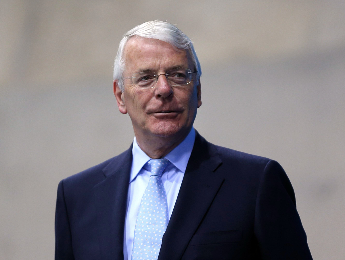 John Major Criticises Privately Educated People In Power ...