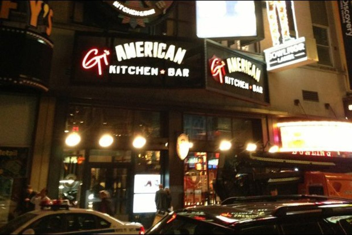 guys american kitchen amp bar: guy kitchen meg