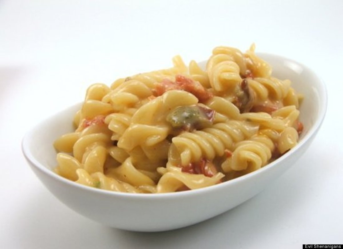 Get the Tex-Mex Macaroni and Cheese recipe by Evil Shenanigans