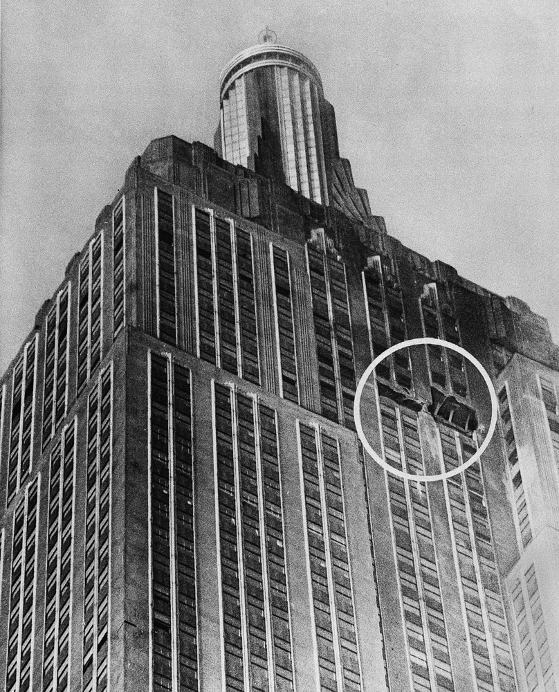 Did Empire State Building Collapse After B