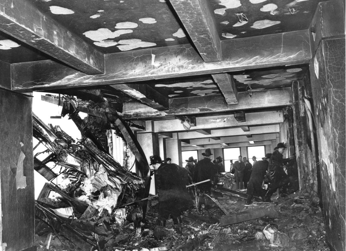 52 Bomber Crash ...B 52 Crash Empire State Building