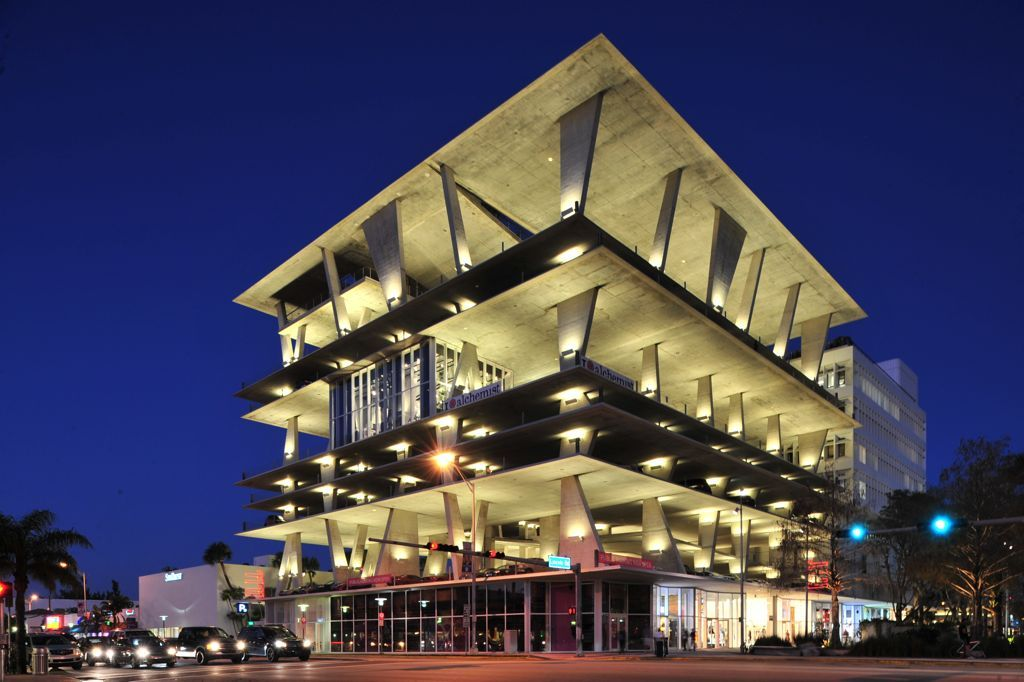 When Parking Garages Go Green The Results Are Stunning