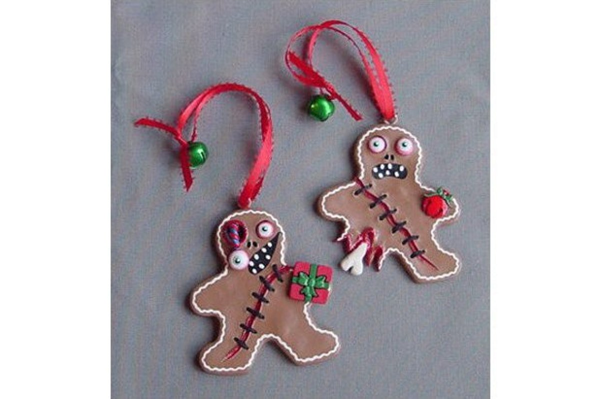 Themed christmas ornaments - Share This Slide