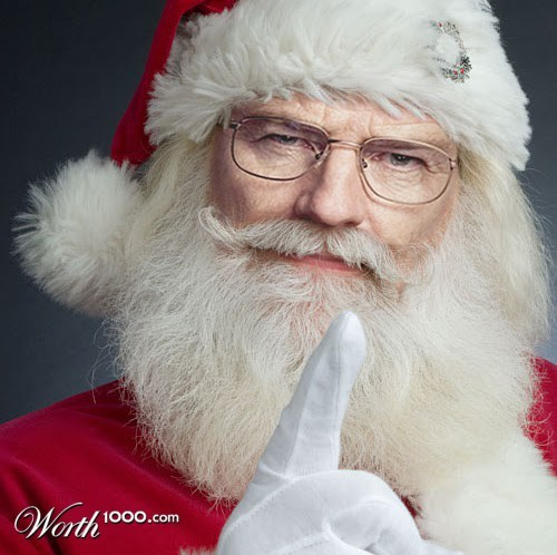 When Graphic Artists Get Bored - Celebrity Santas 2 ...