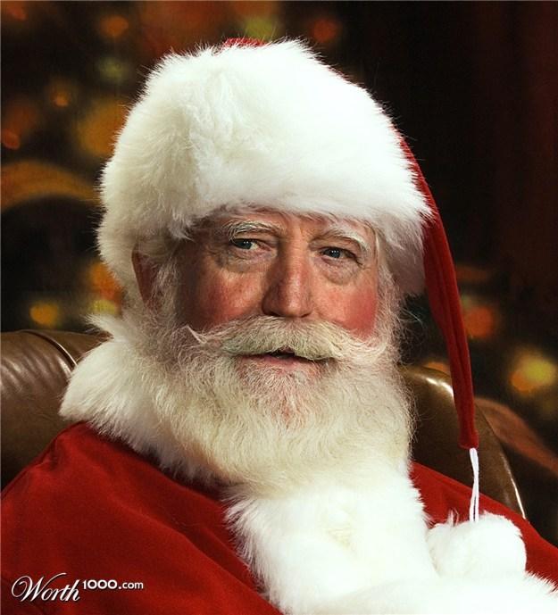 10 Celebrities Who D Make Amazing Mall Santas Huffpost