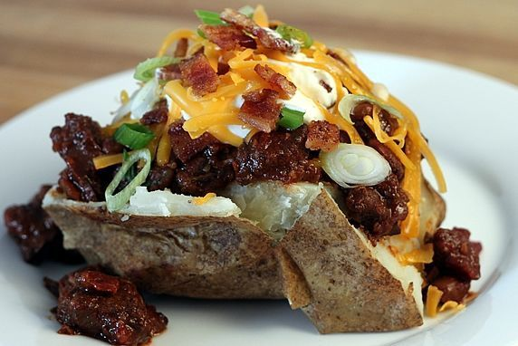 Get the Loaded Baked Potato recipe from The Yummy Life