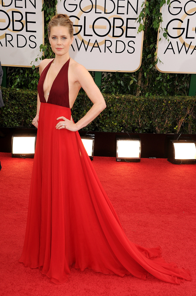 Golden globes red carpet 2014 photos see all the dresses jewelry shoes huffpost - Golden globes red carpet ...