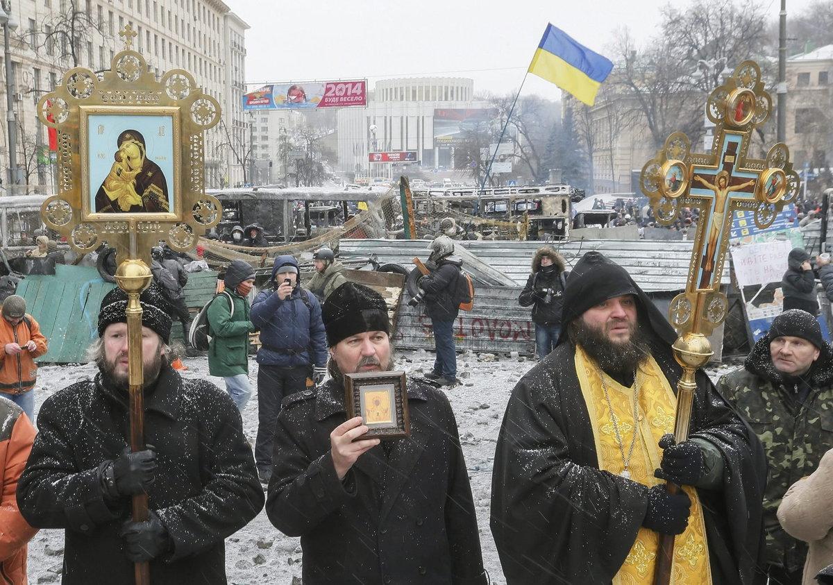 Espectaculares imágenes de los disturbios en Kiev Slide_334209_3344989_free