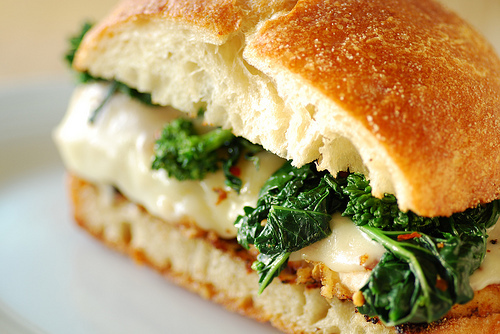 ... Cutlet Sub with Broccoli Rabe and Provolone recipe from Food Blogga