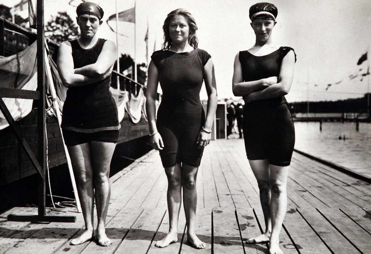 east german women's swim team