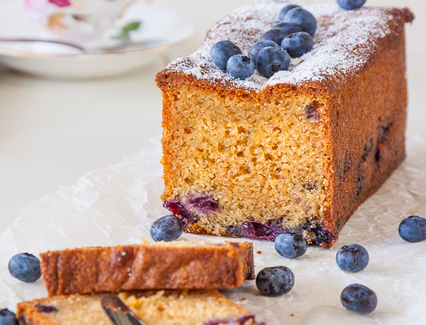 Get the Blueberry and Earl Grey Tea Cake recipe by Delicious Everyday