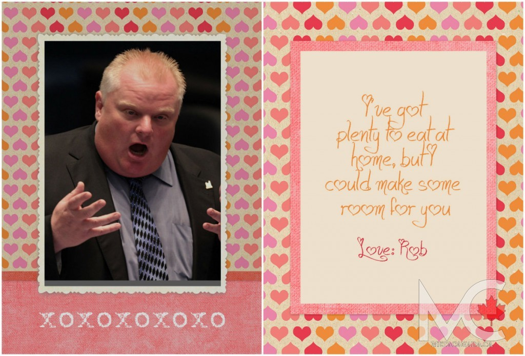 Happy Valentines Day From Canadas Politicians PHOTOS – Valentines Cards Canada