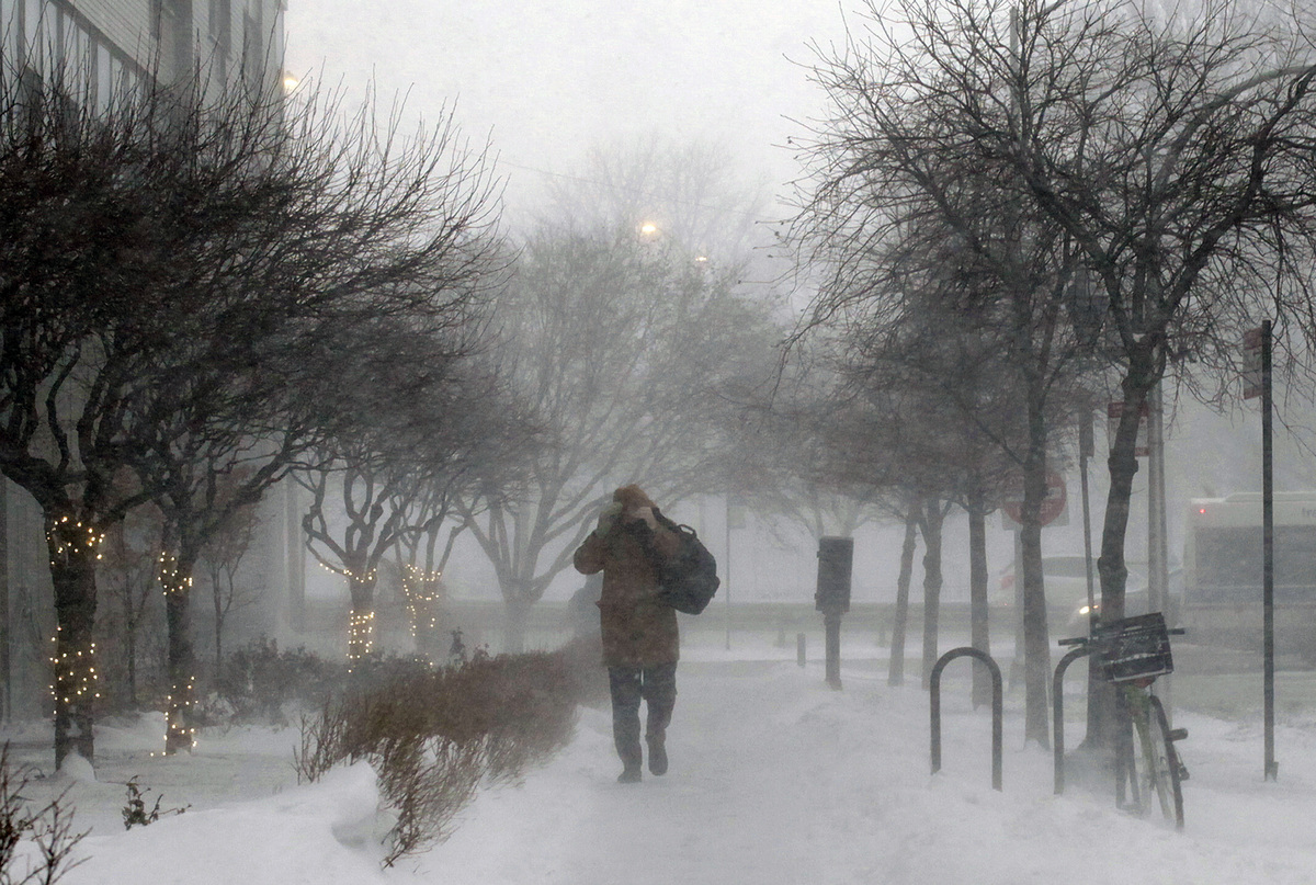 Chicago S Had Almost 2 More Feet Of Snow Than Anchorage