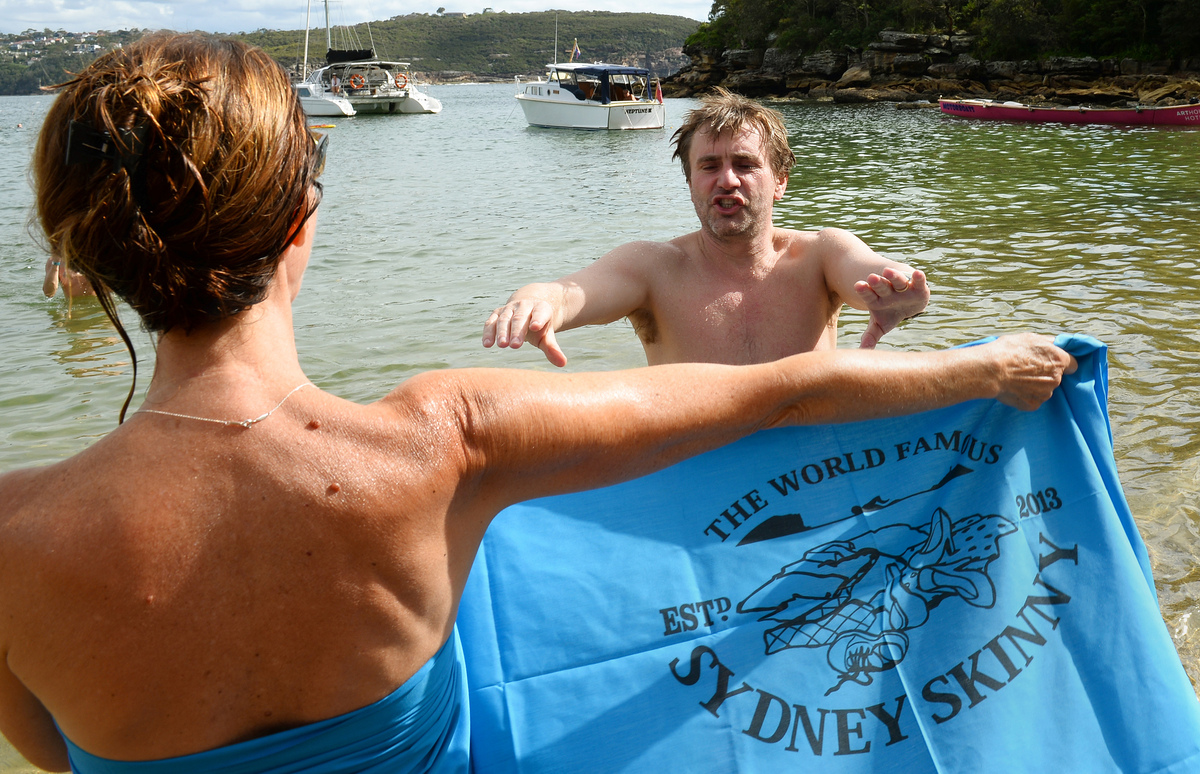 Sydney Skinny Classy Nude Swim Takes Place In Australia Pictures Huffpost Uk