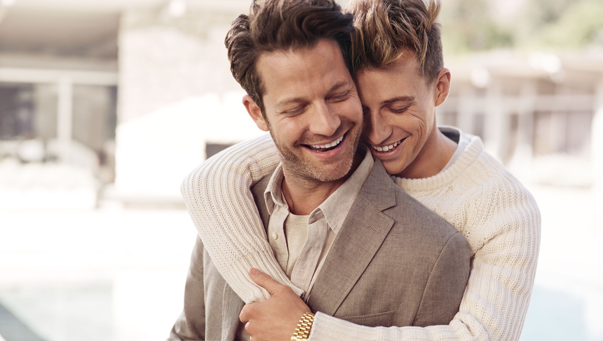 Nate berkus and jeremiah brent are expecting a baby via Married to design