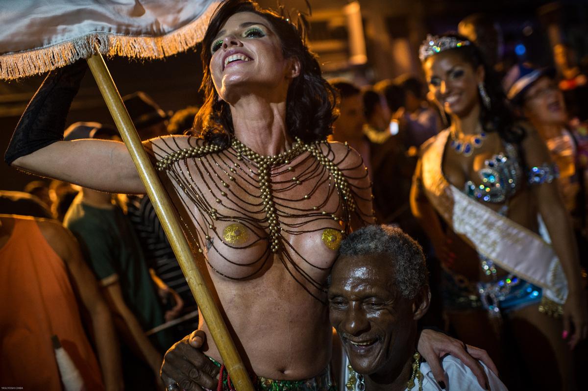 Carnival nude brazil dancers rio