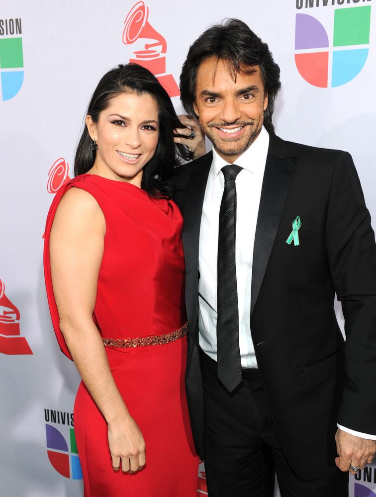 Gabriela Michel y Eugenio Derbez Getty Images Eugenio Derbez y