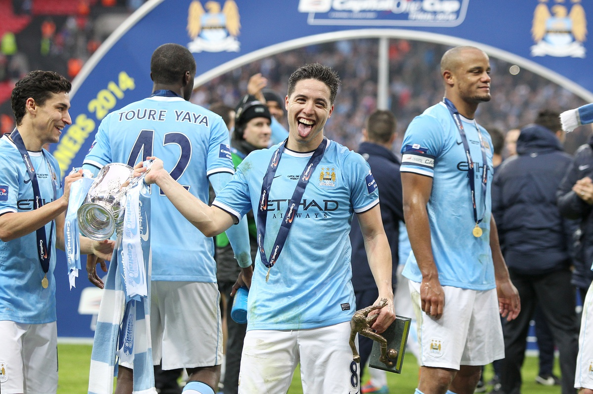 How Many Man City Won The Cup: Manchester City Celebrate League Cup Win (PICTURES