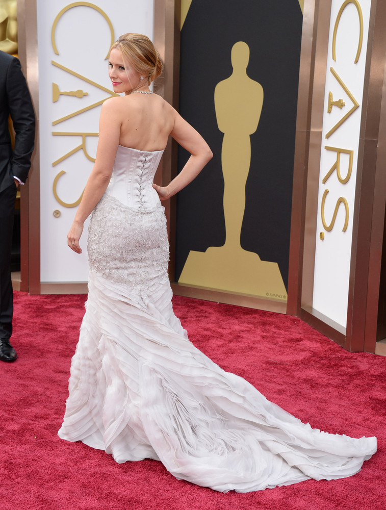 these oscar gowns would make glamorous wedding dresses huffpost