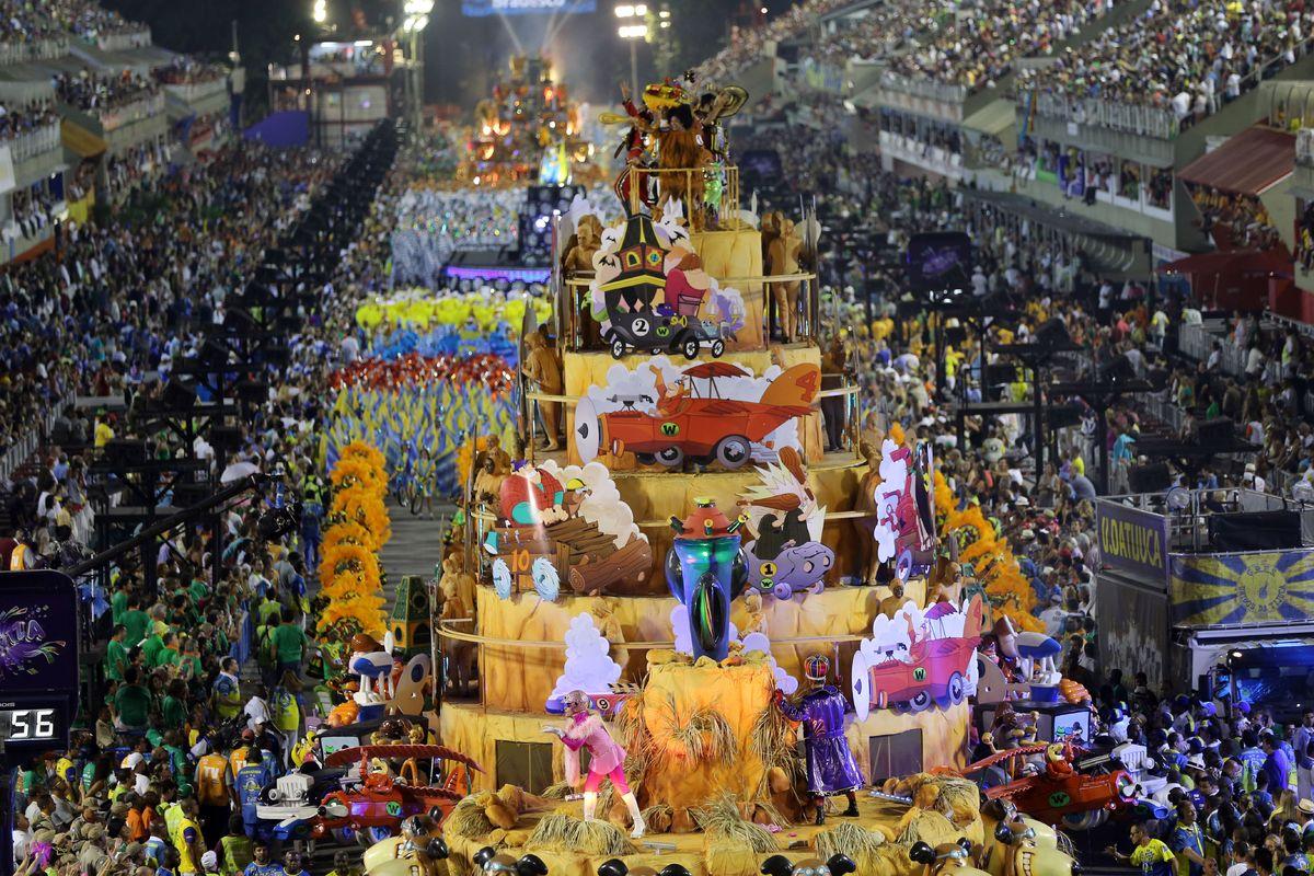 Rio De Janeiro Carnival S Samba Finale Provides