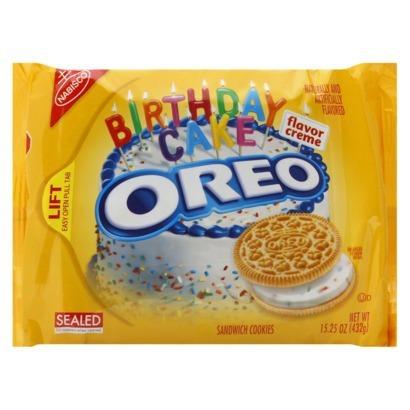 Birthday Cake Oreos Peanut Free