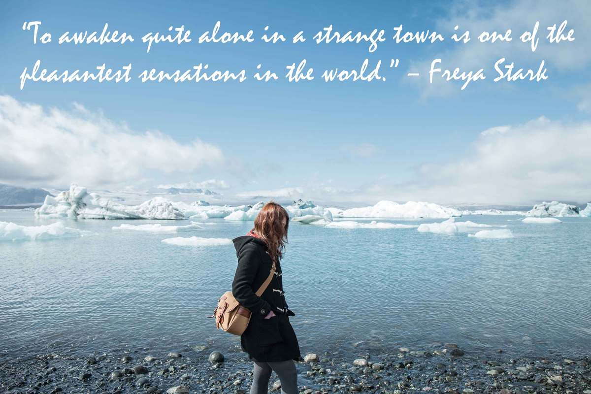 Travel Alone Quotes 10 Travel Quoteswomen That'll Inspire You For International