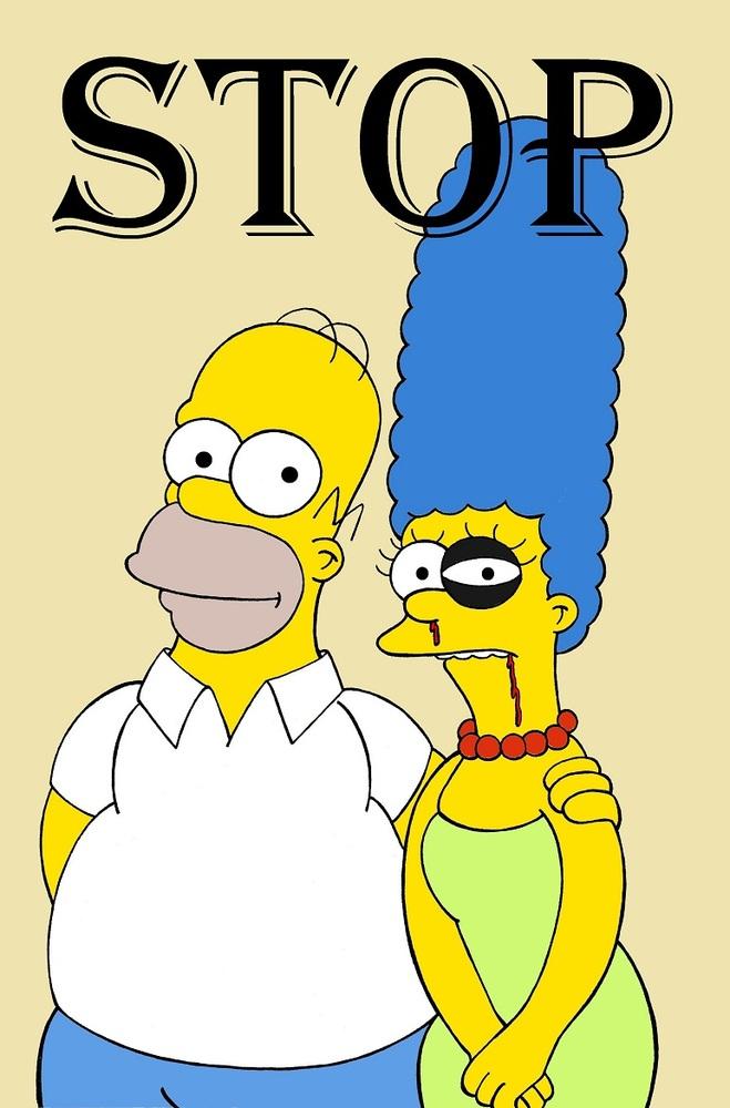 Dibujos animados de personajes femeninos como v ctimas de - Homer simpson nu ...