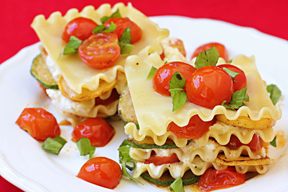 Get the No-Bake Summer Lasagna recipe by Gimme Some Oven