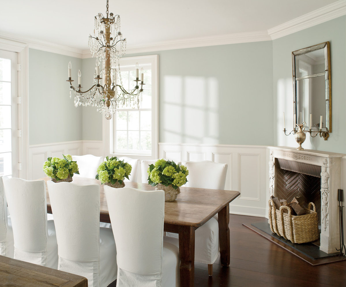 The top 5 paint colors for apartments are hardly colors at for Dining room colour inspiration